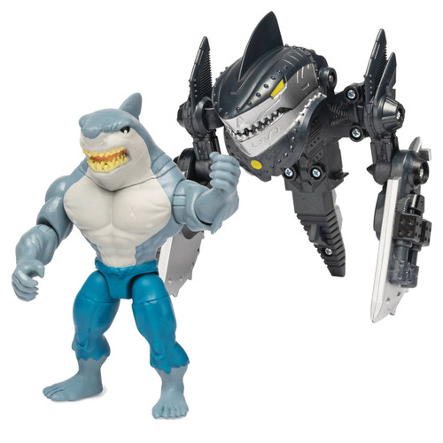 DC Batman Creature Chaos King Shark Exclusive Action Figure [Creature Chaos, Mega Gear]