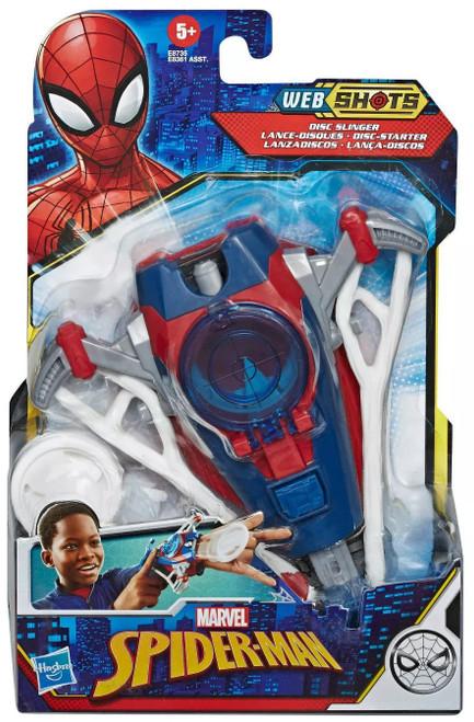 Marvel Spider-Man Web Shots Disk Slinger Roleplay Toy (Pre-Order ships November)