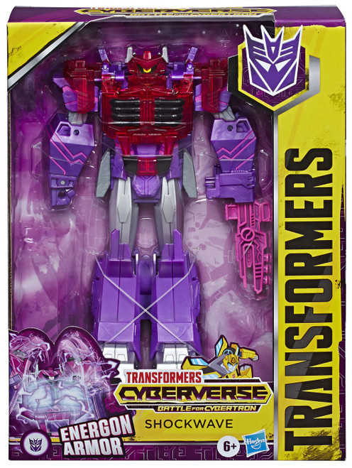 Transformers Cyberverse Shockwave Ultimate Action Figure [Energon Armor]