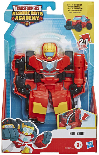Transformers Robot Academy Hot Shot Action Figure