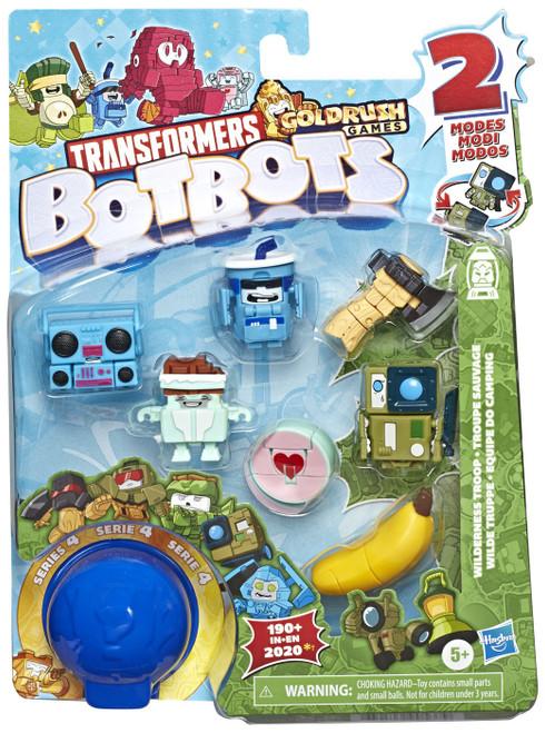 Transformers BotBots Series 4 Wilderness Troop Mini Figure 8-Pack [RANDOM Figures]