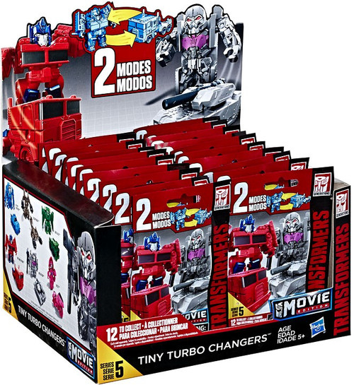 Transformers Movie Edition Tiny Turbo Changers Series 5 Mystery Box [24 Packs]