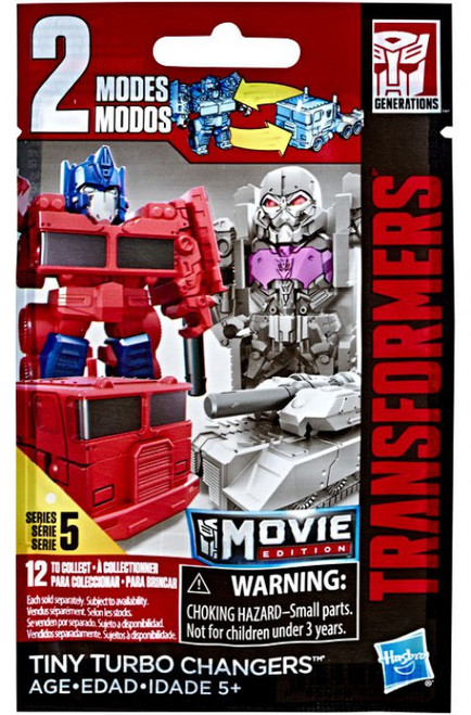 Transformers Movie Edition Tiny Turbo Changers Series 5 Mystery Pack