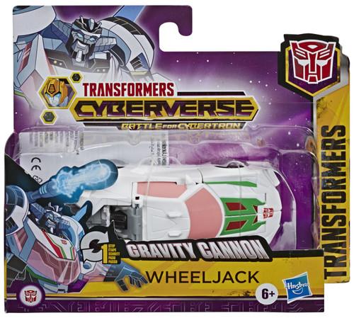 "Transformers Cyberverse Battle for Cybertron 1 Step Changer Wheeljack 4.25"" Action Figure [Battle for Cybertron]"