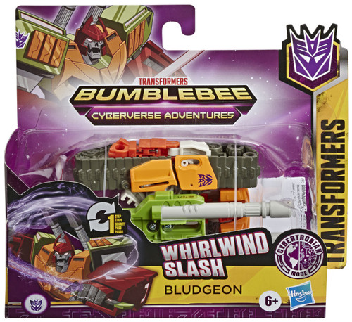 "Transformers Bumblebee Cyberverse Adventures 1 Step Changer Bludgeon 4.25"" Action Figure [Battle for Cybertron]"