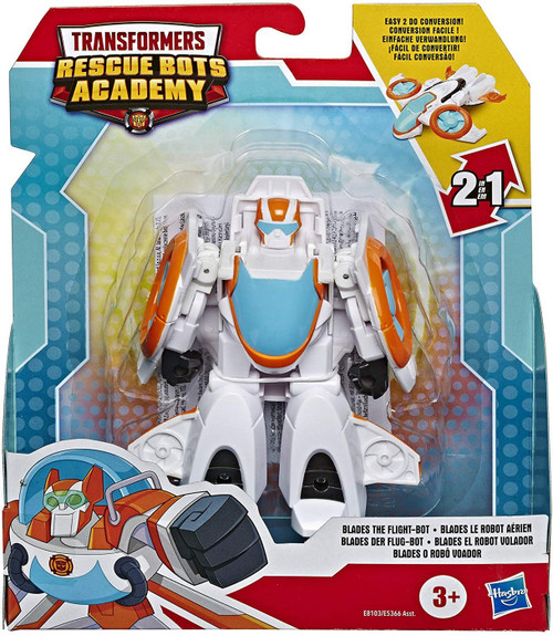 "Transformers Playskool Heroes Rescue Bots Academy Blades the Flight-Bot 4.5"" Action Figure [Rescan]"