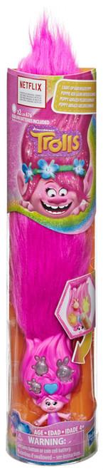 Trolls Light-Up Hair Huggers Poppy Figure