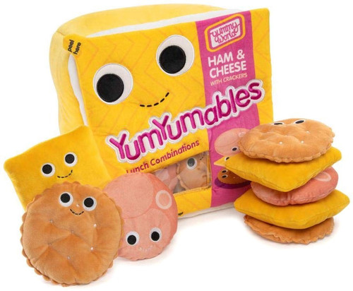 Yummy World Zoey & The YumYumables X-Large Plush [Ham & Cheese with Crackers]