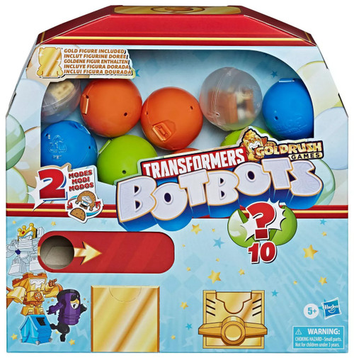 Transformers BotBots Series 4 Surprise Unboxing: Gumball Machine Mystery 10-Pack