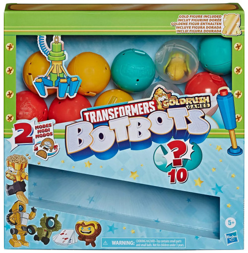 Transformers BotBots Series 4 Surprise Unboxing: Claw Machine Mystery 10-Pack