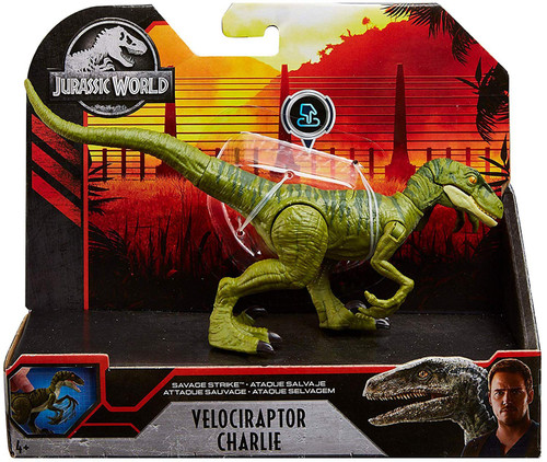 Jurassic World Velociraptor Charlie Action Figure [Savage Strike]