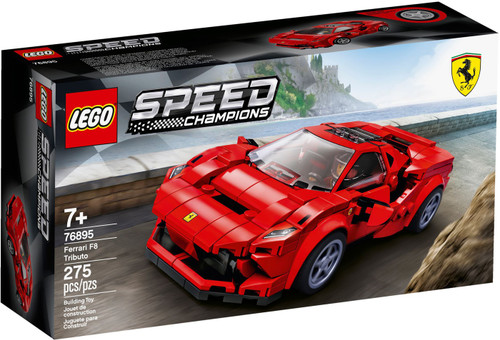 LEGO Speed Champions Ferrari F8 Tributo Set #76895