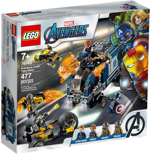 LEGO Marvel Super Heroes Avengers Truck Take-Down Set #76143