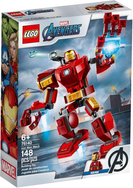 LEGO Marvel Super Heroes Avengers Iron Man Mech Set #76140