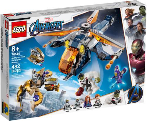LEGO Marvel Super Heroes Avengers Hulk Helicopter Rescue Set #76144