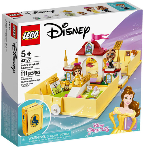 LEGO Disney Princess Belle's Storybook Adventures Set #43177