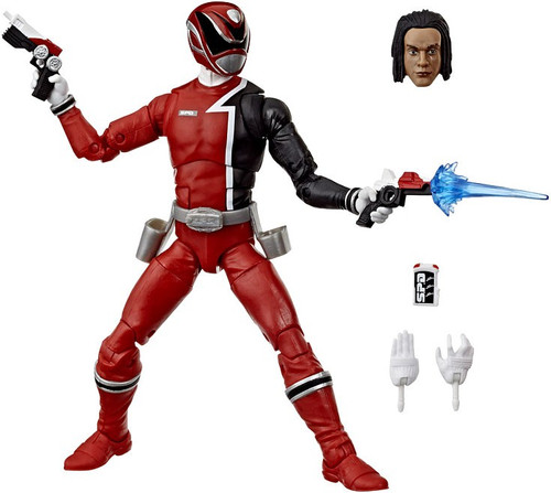 Power Rangers S.P.D. Lightning Collection Red Ranger Action Figure [SPD]