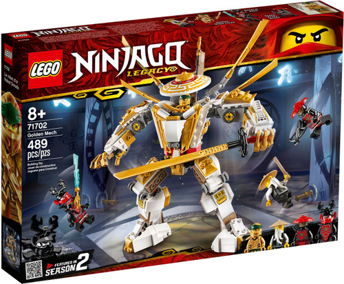 LEGO Ninjago Golden Mech Set #71702