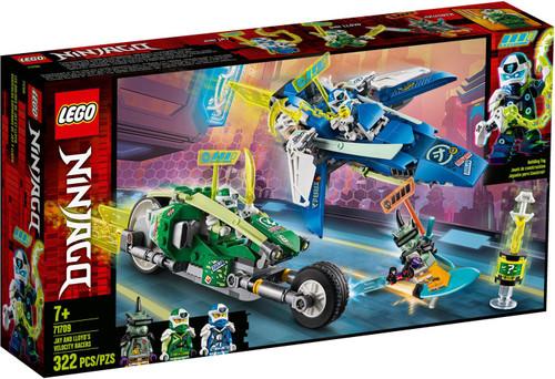 LEGO Ninjago Jay & Lloyd's Velocity Racers Set #71709