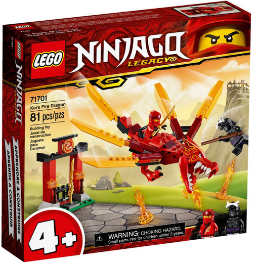 LEGO Ninjago Kai's Fire Dragon Set #71701