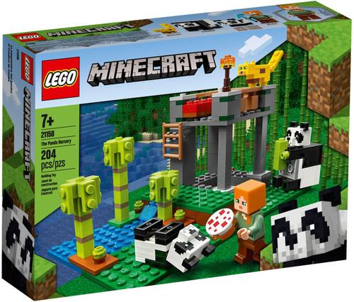 LEGO Minecraft The Panda Nursery Set #21158