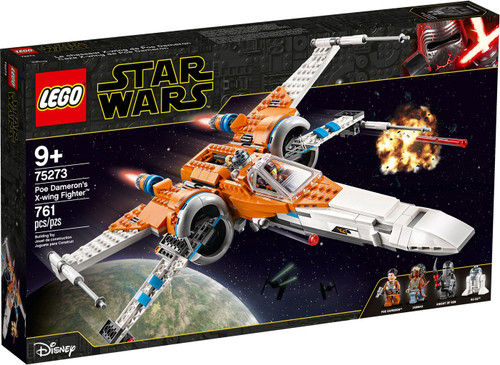 LEGO Star Wars Poe Dameron's X-Wing Figher Set #75273