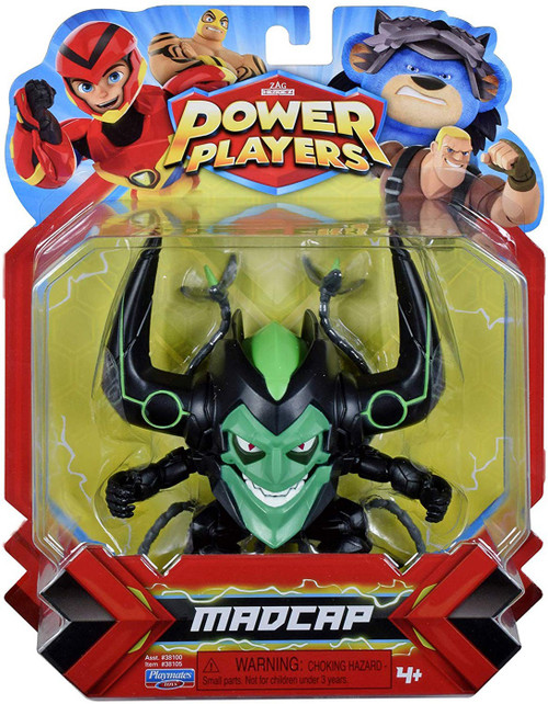 Zag Heroez Power Players Madcap Action Figure