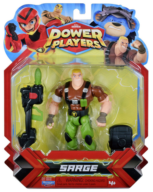 Zag Heroez Power Players Sarge Action Figure