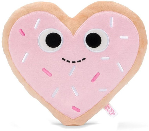 Yummy World Haylee Heart Cookie 10-Inch Medium Plush