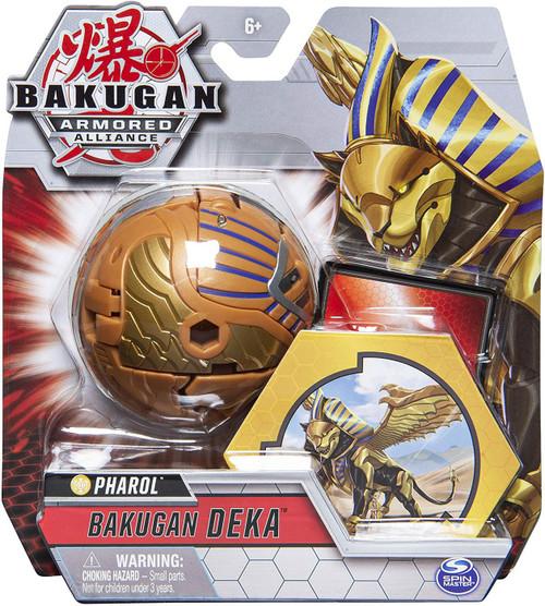 Bakugan Armored Alliance Deka Pharol Figure [Jumbo Bakucore]