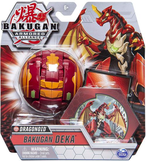 Bakugan Armored Alliance Deka Dragonoid Figure [Jumbo Bakucore]