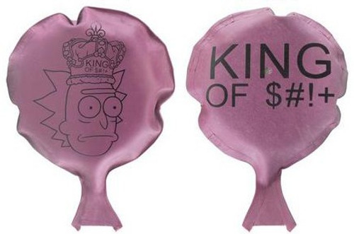 Funko Rick & Morty King of $#!+ Exclusive Mini Whoopie Cushion