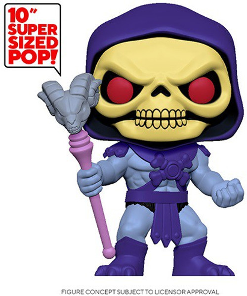 Funko Masters of the Universe POP! Animation Skeletor 10-Inch Vinyl Figure [Super-Sized] (Pre-Order ships February)