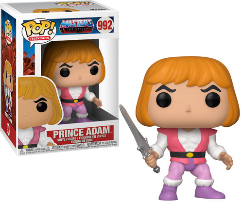 Funko Masters of the Universe POP! Animation Prince Adam Vinyl Figure #992