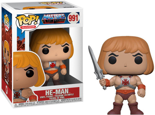 Funko Masters of the Universe POP! Animation He-Man Vinyl Figure #991
