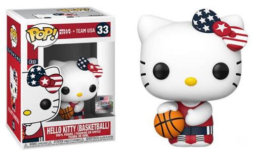 Funko Team USA POP! Sanrio Basketball Hello Kitty Vinyl Figure #33