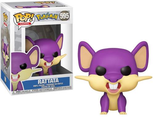 Funko Pokemon POP! Games Rattata Vinyl Figure