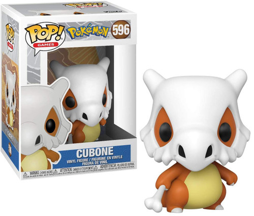 Funko Pokemon POP! Games Cubone Vinyl Figure #596