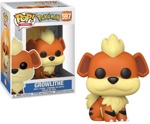 Funko Pokemon POP! Games Growlithe Vinyl Figure #597