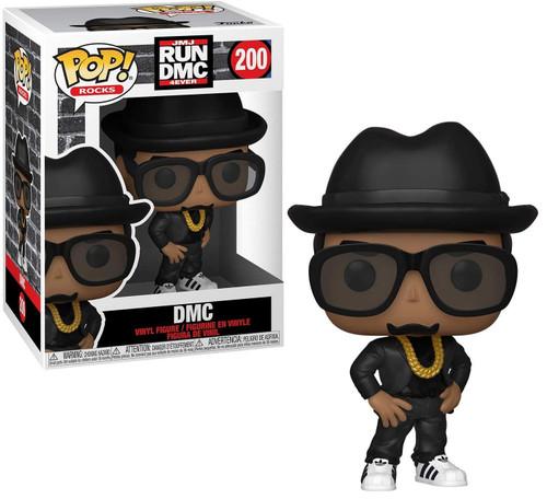 Funko Run-DMC POP! Rocks DMC Vinyl Figure #200 (Pre-Order ships February)