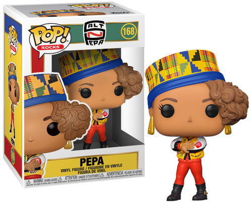 Funko Salt-N-Pepa POP! Rocks Pepa Vinyl Figure #168