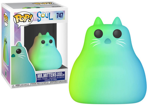 Funko Disney / Pixar POP! Disney Mr. Mittens (Soul World) Vinyl Figure #747