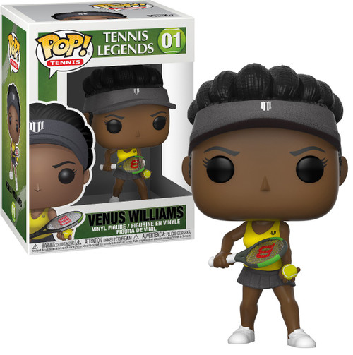 Funko Tennis POP! Legends Venus Williams Vinyl Figure #01 (Pre-Order ships January)