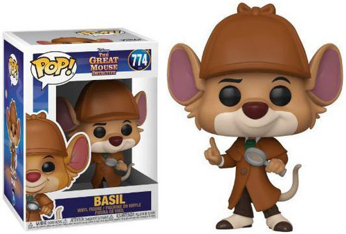 Funko The Great Mouse Detective POP! Disney Basil Vinyl Figure
