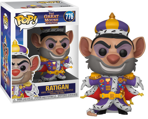 Funko The Great Mouse Detective POP! Disney Ratigan Vinyl Figure