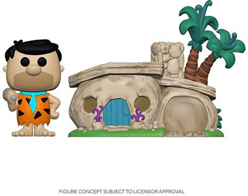 Funko Hanna-Barbera POP! Town The Flintstones Home Vinyl Figure Set #14 (Pre-Order ships November)