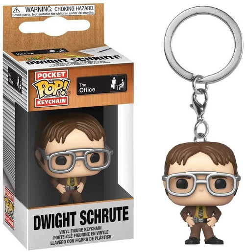 Funko The Office Pocket POP! Dwight Schrute Keychain (Pre-Order ships January)