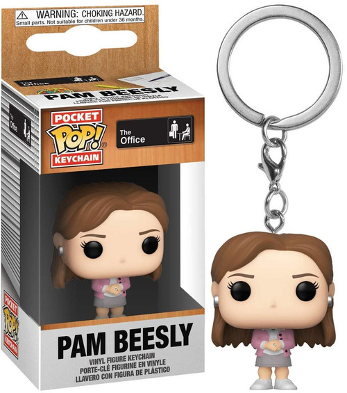 Funko The Office Pocket POP! Pam Beesly Keychain
