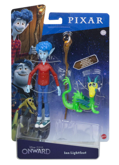 Disney / Pixar Onward Ian Lightfoot Action Figure [with Blazey]