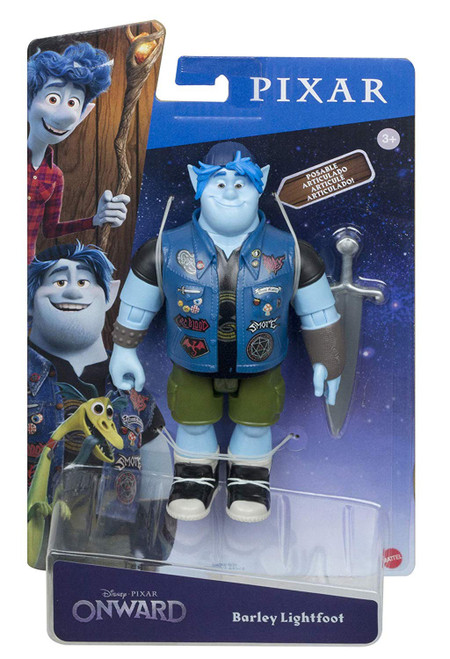 Disney / Pixar Onward Barley Lightfoot Action Figure [with Sword]